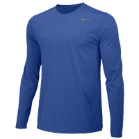 Nike Team Legend Long Sleeve Poly Top - Boys' Grade School - Blue / Blue