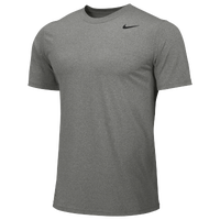 Nike Team Legend Short Sleeve Poly Top - Boys' Grade School - Grey / Grey