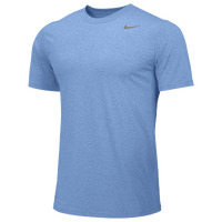 Nike Team Legend Short Sleeve Poly Top - Boys' Grade School - Light Blue / Light Blue
