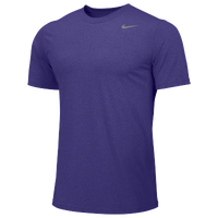 Nike Team Legend Short Sleeve Poly Top - Boys' Grade School - Purple / Purple