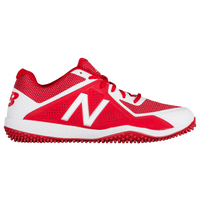 New Balance 4040v4 Turf - Men's - Red / White