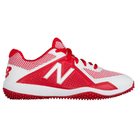 New Balance 4040v4 Youth Turf - Boys' Grade School - Red / White