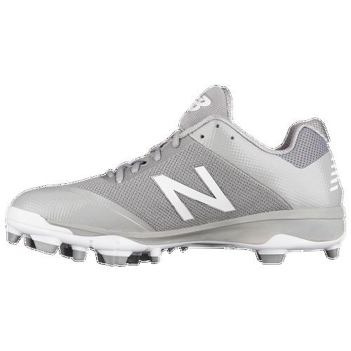 New Balance 4040v4 TPU Low - Men's Baseball - Grey/Grey 4040G4