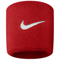 Nike Swoosh Wristbands - Red / White