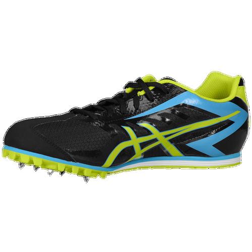 ASICS? Hyper LD 5 - Men's Track & Field - Black/Lime/Blue 4049005