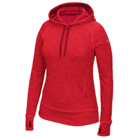 adidas Team Issue Hoodie - Women's - Red / Red