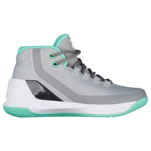 96d12134afb ... czech under armour curry 3 girls grade school basketball shoes stephen curry  grey meteor green white