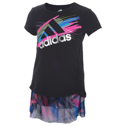 Adidas Printed Skort Set Girls Infant Casual