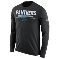 nike nfl onfield sideline ls tshirt menu0027s carolina panthers - Carolina Panthers Merchandise