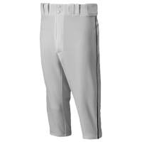 Mizuno Premier Short Piped Pants - Men's - Grey / Black