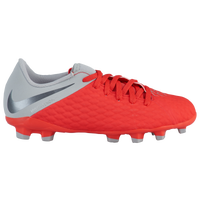 Nike Hypervenom Phantom 3 Academy FG - Boys' Grade School - Red / Grey