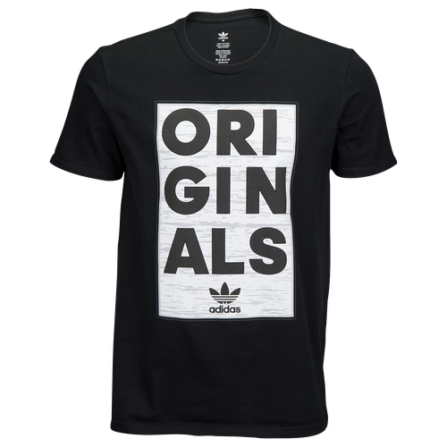 best sneakers 4761a 28717 durable service adidas Originals Graphic T Shirt Mens Casual Clothing Black  Grey