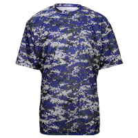 Badger Sportswear Digital Camo T-Shirt - Men's - Purple / Grey