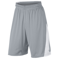 Nike Elite Courtside Shorts - Men's - Grey / White