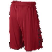 7af3336e3b47 Nike Elite Courtside Shorts - Men s - Red   Black