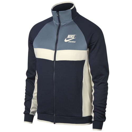 Nike Archive Track Jacket - Menu0027s - Navy / Light Blue  sc 1 st  Eastbay & Menu0027s Jackets Blue | Eastbay.com azcodes.com