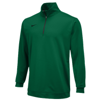 Nike Team Dri-FIT 1/2 Zip - Men's - Dark Green / Dark Green