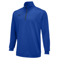 Nike Team Dri-FIT 1/2 Zip - Men's - Blue / Blue