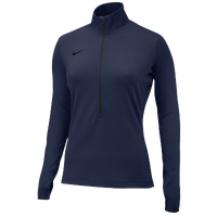 Nike Team Pro Hyperwarm 1/2 Zip 3.0 - Women's - Navy / Navy