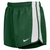 Nike Team Anchor Shorts - Men's - Dark Green / White