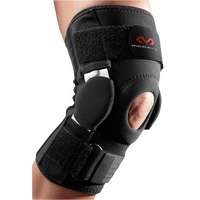 McDavid Knee Brace w/ Dual Disk Hinges - All Black / Black