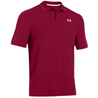 Under Armour Performance Golf Polo 2.0 - Men's - Maroon / Maroon