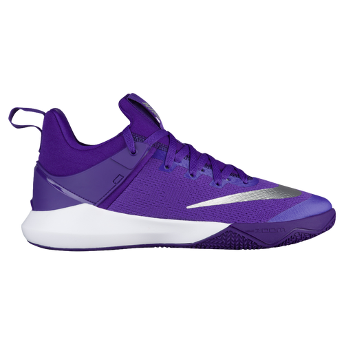 Nike Zoom Shift - Men's - Basketball - Shoes - Field Purple/Metallic  Silver/White