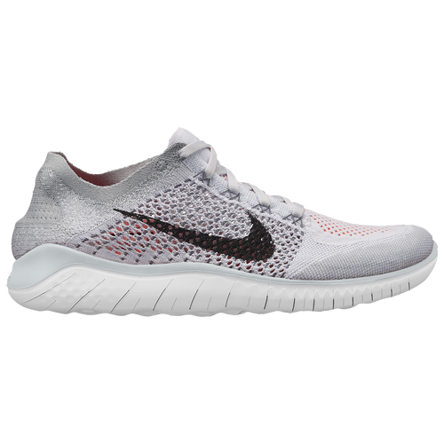 Nike Free RN Flyknit 2018 - Men's - Running - Shoes - Pure  Platinum/Black/White/Wolf Grey/Total Crimson