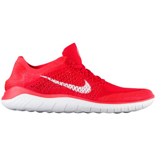 8c6ef43e9a42a ... real nike free rn flyknit 2018 mens running shoes university red white  bright crimson 7a622 5f002 ...