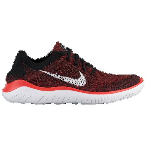 Nike Free RN Flyknit 2018 - Men's - Running - Shoes - Bright Crimson/White/Black