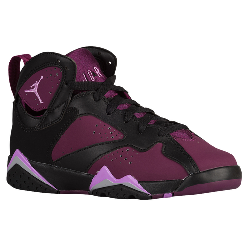 huge selection of 3be0c f44e6 Color  Black Fuchsia Glow-Mulberry Jordan Retro 7 - Girls  Grade School -  Basketball - Shoes - Black Fuchsia ...