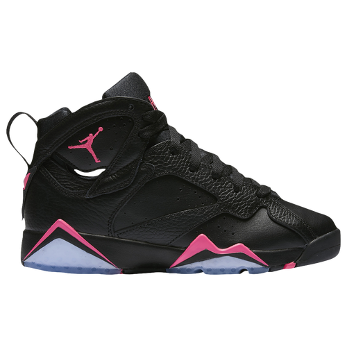 air jordan 7 girls grade school pink and black