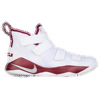 da73580bd38ef Nike LeBron Soldier 11 - Men s - Lebron James - White   Silver