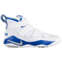 4ce54fbdad6 Nike LeBron Soldier 11 - Men s - LeBron James - White   Silver