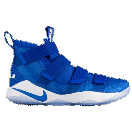 Nike LeBron Soldier 11 - Men\u0027s - Basketball - Shoes - Lebron James - Game  Royal/White