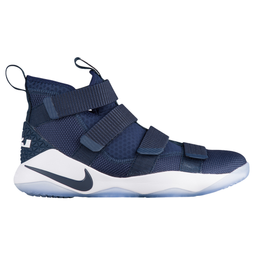 lebron low shoes. nike lebron soldier 11 - men\u0027s lebron james navy / white low shoes