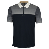 Oakley Sublimated Jacquard Polo - Men's - Black / Grey