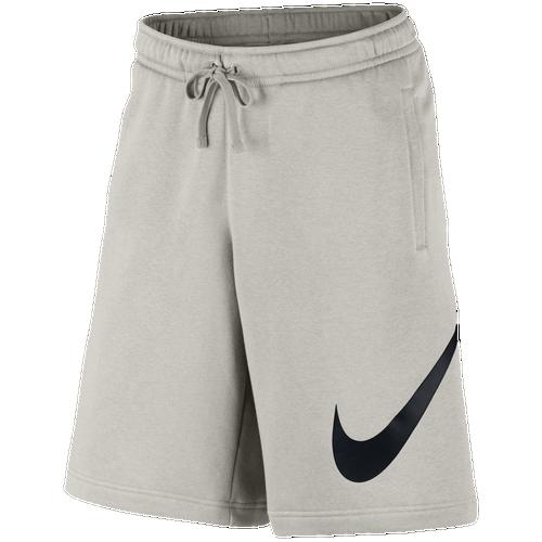 Nike Club Explode Shorts - Men's Casual - Light Bone/Black 43520072