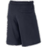 Nike Club Explode Shorts - Men's Casual - Dark Obsidian/White 43520451
