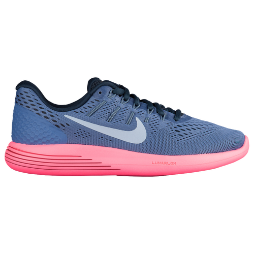 Nike LunarGlide 8 - Women's Running Shoes - Blue Moon/Light Armory Blue/Racer Pink/Armory Navy 43726408