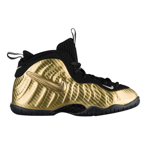 3b509815a31 ... Nike Little Posite Pro - Boys Toddler - Basketball - Shoes - Metallic  Gold ...