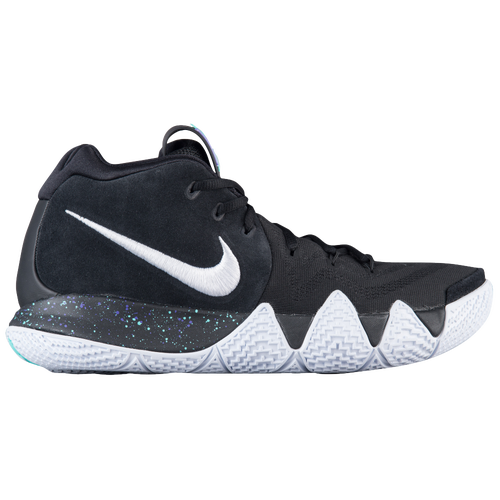 Nike Kyrie 4 - Men's - Basketball - Shoes - Kyrie Irving -  Black/White/Anthracite/Light Racer Blue