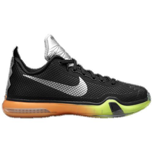 Nike Kobe X Elite - Boys' Grade School - Basketball - Shoes - Black/Multi  Color/Volt