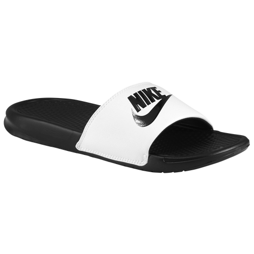 dc9ccde68 Nike Benassi JDI SlideMen39sCasualShoesBlackBlackBlacksku