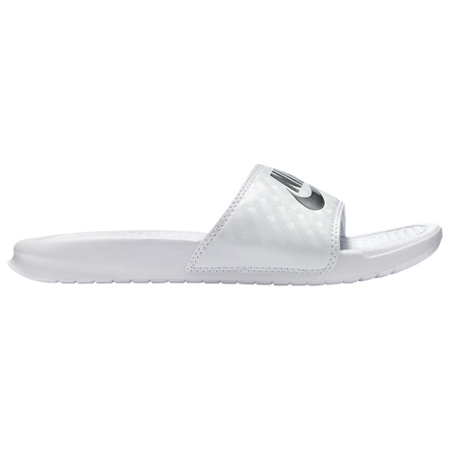 Nike Benassi JDI Slide - Women's - Casual - Shoes - White ...