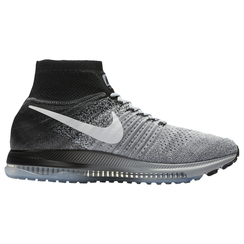 buy popular 42e6b 450bf ... amazon nike zoom all out flyknit mens running shoes wolf grey black  pure platinum white c29e4