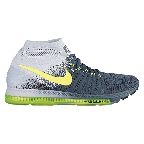 Nike Zoom All Out Flynit Men Zoom FLYKNIT Knitting Running Shoes High Quality None Gray Jade Top Deals