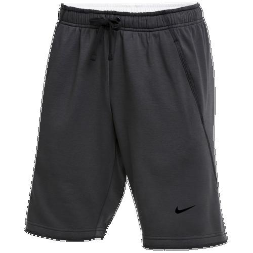 Nike Team Flux Shorts - Men's Baseball - Charcoal Heather/Black 44364071
