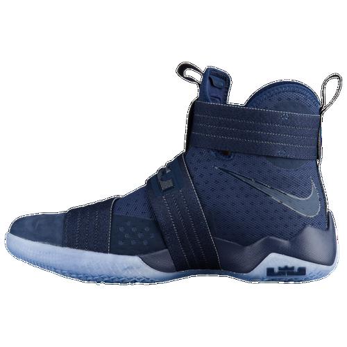 1b296035f1a8 Nike LeBron Soldier 10 - Mens - LeBron James - Navy Navy ...