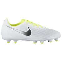 Nike Magista Opus II FG - Boys' Grade School - White / Black